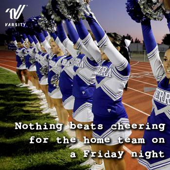 Nothing beats cheering for the home team on a Friday night!
