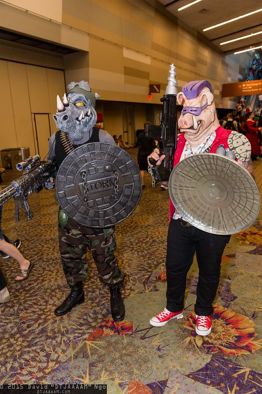 Rocksteady and Bebop Epic Cosplay Pinterest TMNT