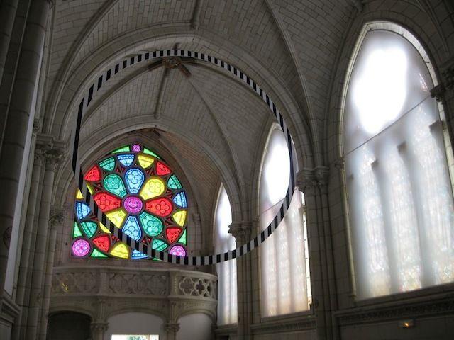 Daniel Buren Chapelle Jeanne d'Arc, Thouars