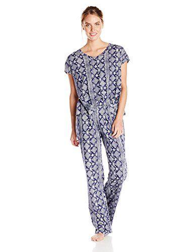 $50-Lucky Brand Women's Knit Tee Jay Pajama Set, Aztec/Denim Navy, Large Lucky Brand http://www.amazon.com/dp/B00YX6P5BG/ref=cm_sw_r_pi_dp_MhTTwb0DQC00Y