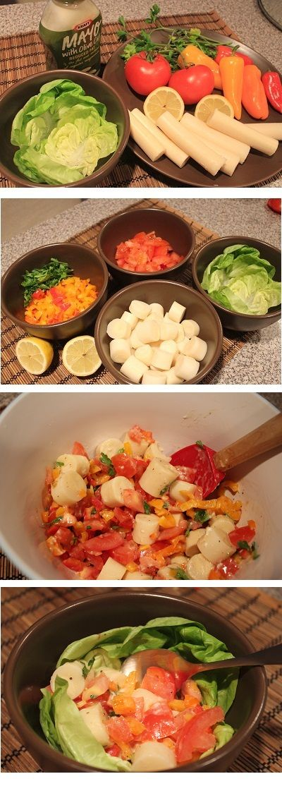 Heart of Palm Salad Recipe from Costa Rica!  #recipes #food #costarica