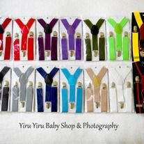 A little bit touch make it prefect! *Most popular colors and latest design *Help to hold the pant by not falling *Can be for girls or boys *Adjustable, suitable from newborn to 6yrs old * All products made from smoke free and pet free environment. *Get your 2nd suspender for FREE shipping ...