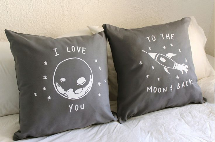 I+love+you+to+the+moon+and+back++His+and+Hers+by+ZanaProducts,+$54.00
