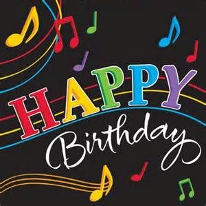 happy birthday with music notes - Yahoo Search Results
