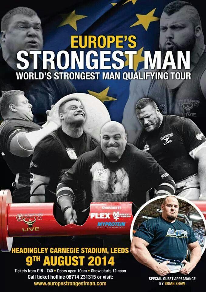 Europe strongest man