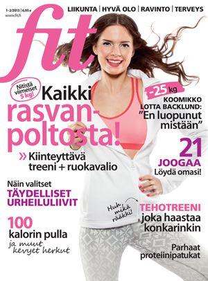 Fit 1-2/2013 #fitlehti #kansi