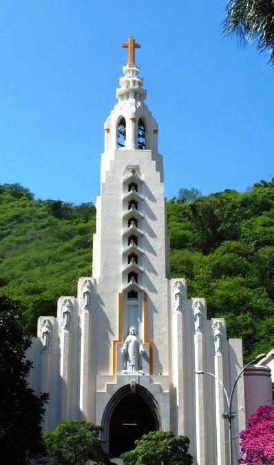 Art Deco - Igreja de Santa Terezinha do Menino Jesus - Rio de Janeiro