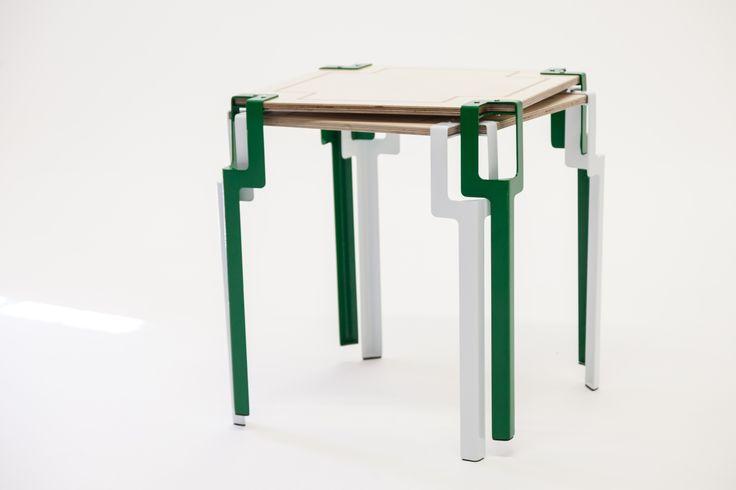 Stack Pinda table #furniture #flatpack #moderndesign #durban #decor #interiordesign