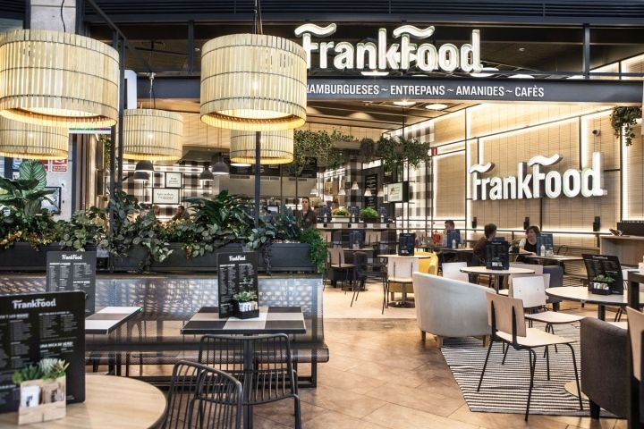 Frank food restaurant by futur2 girona spain bar