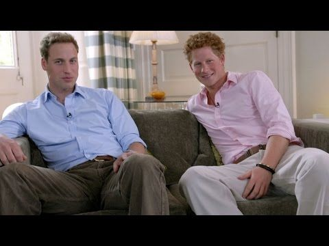 A rare conversation with William & Harry in honor of Diana - The Today S...