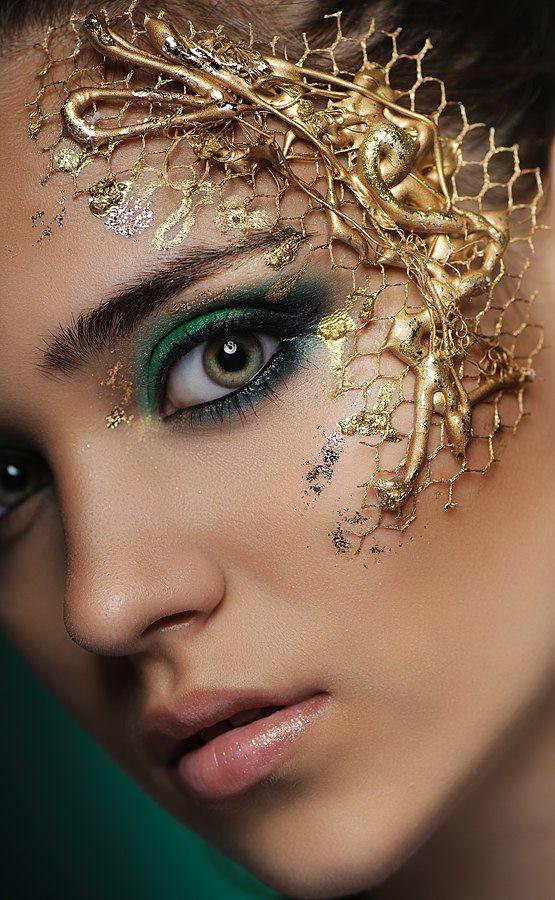 Tatyana Zolotashko Makeup Artist | Fantasy  | Beauty #photography #avantgarde