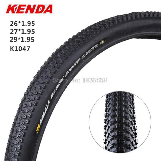 Kenda MTB de Neumáticos de Bicicleta 26 27.5 29*1.95 inch 60 tpi Anti-arma blanca lado suave de precios de neumáticos de bicicleta de Montaña de neumáticos k1047 pequeño bloque ocho