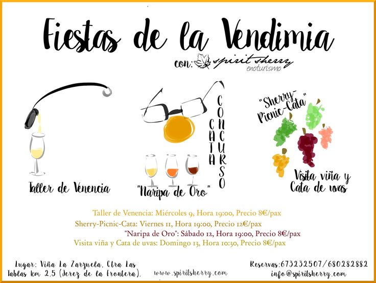 Vive las #fiestasdelavendimia con @spiritsherry #enoturismo #sherry #Cádiz