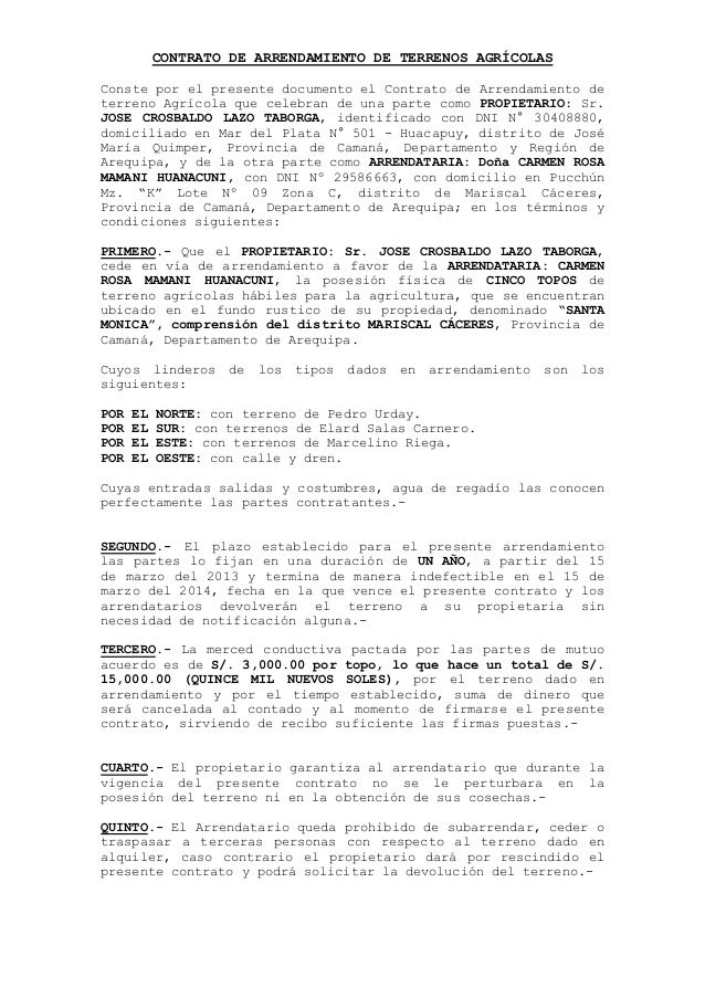 Ms de 25 ideas increbles sobre Contrato de arrendamiento en