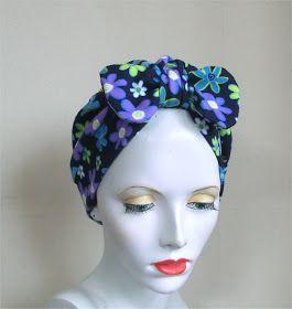 Millinery musings: Make a turban - Tutorial