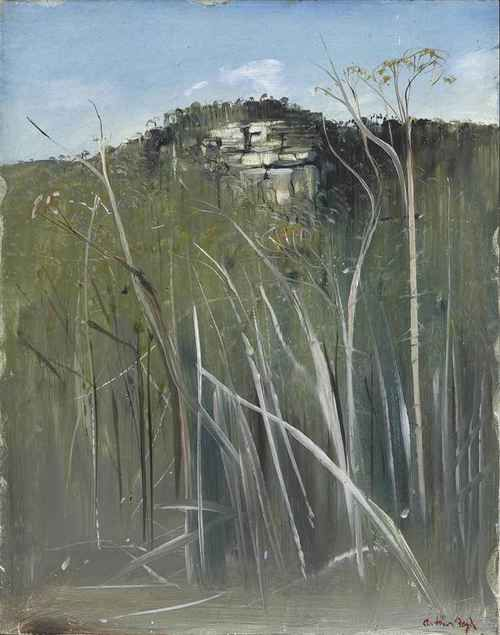 Arthur Boyd - Budgong Creek Road, 1978.