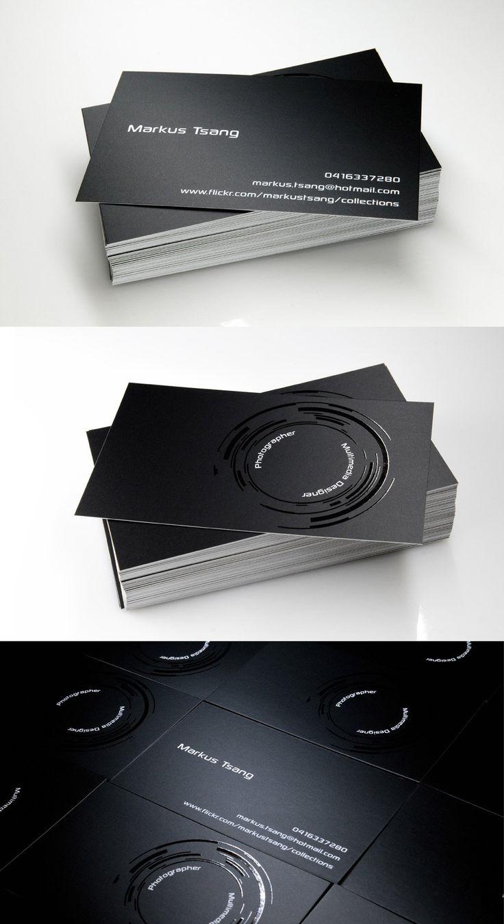 20款极简风格名片设计作品欣赏 | 设计达人