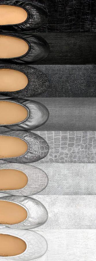 Be comfortable in the grey area. | Tieks Ballet Flats