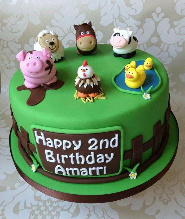 45 Best Images About FARM Fondant Cake On Pinterest