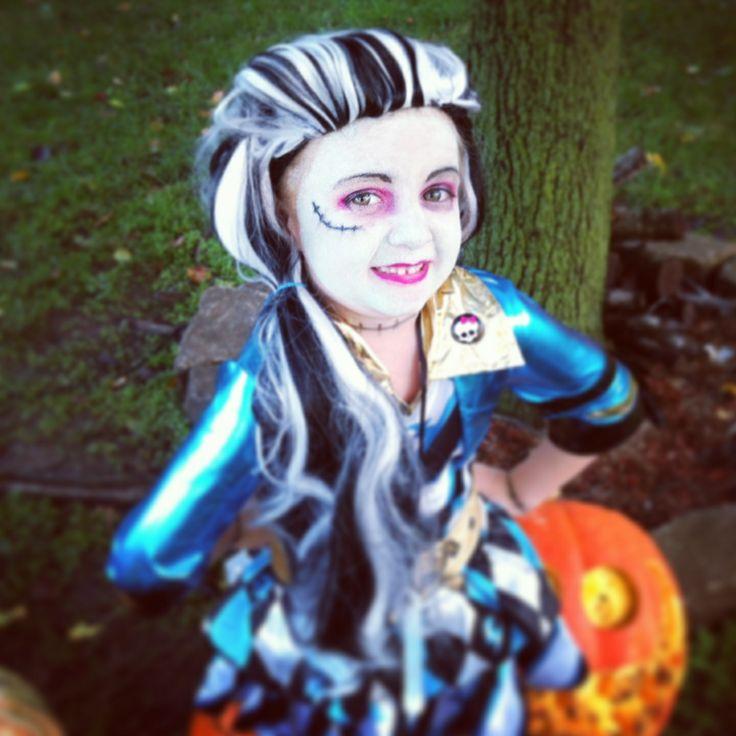 Frankie Stien Monster High kids makeup!!