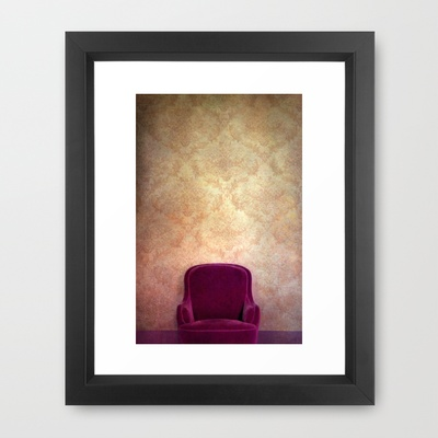 place of silence Framed Art Print by Claudia Drossert - $35.00: Silence Framed, Framed Art Prints, Claudia Drossert, Framed Prints