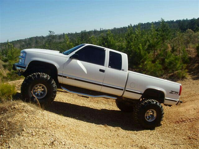 Lifted. Chevy Silverado Z71 4x4