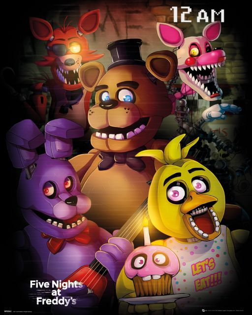 Five Nights At Freddys Fnaf Five Nights At Freddys