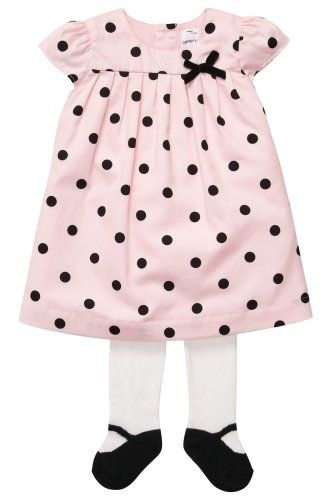 TOPSELLER! Carter`s Baby-girls Dress Set with Ti... $19.49