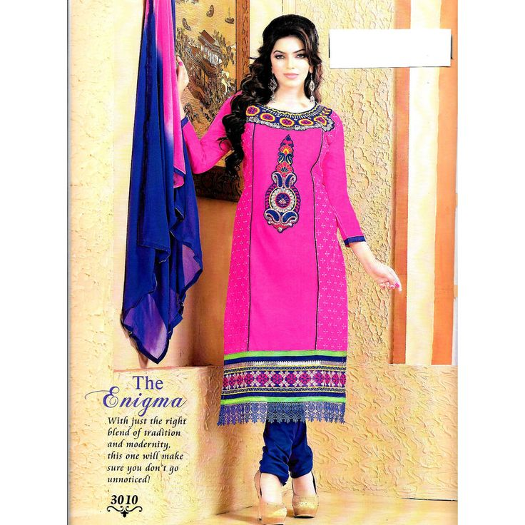 ESIGNER EMBROIDERED COTTON SUIT