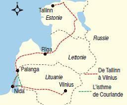 Circuit Pays Baltes à Vélo - Tallinn Riga Vilnius à Vélo - Circuit Estonie Lettonie Lituanie - Circuit à Vélo - Grand Angle