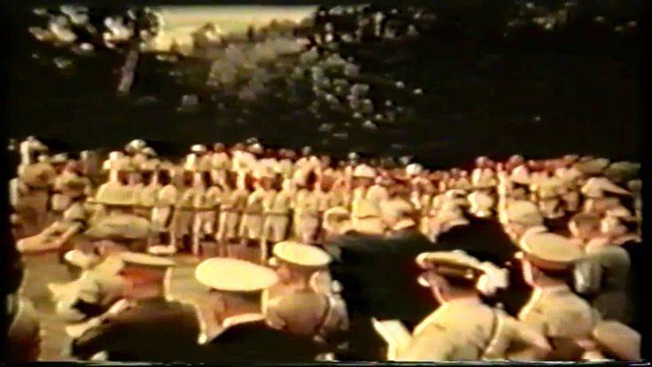 Funeral de Baden Powell (fundador do Escutismo) 1941