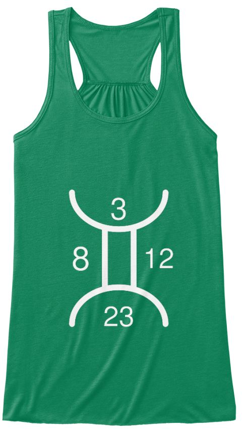 3 8 12 23 Kelly T-Shirt Front