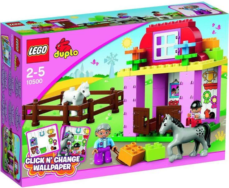 Lego Duplo 10500 Koňské stáje - 0