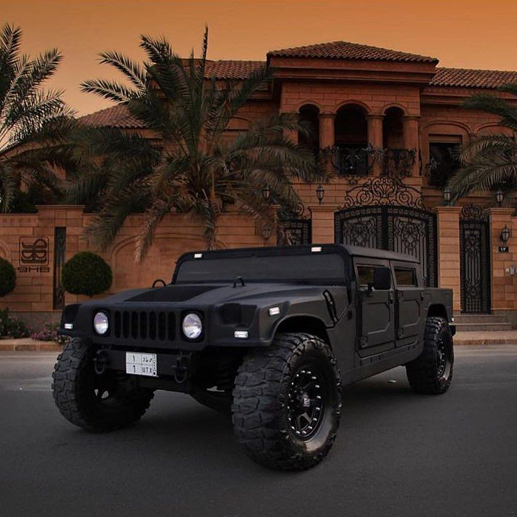 "LUXURY AFFAIR ™ on Instagram: ""Toys for big boys ✖️ #HummerH1 via @arabgarage"""