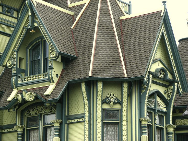 17 best images about painted ladies queen anne for Eureka ca cabins