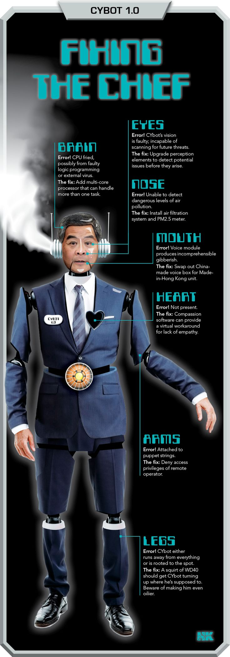 Pimp My CE: How Hong Kong's Chief Executive CY Leung Can Win Our Hearts | HK Magazine