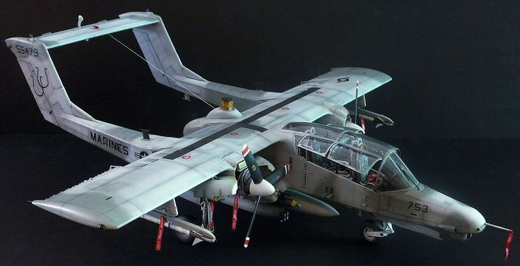 The Modelling News: Taming the Bronco – Kittyhawks' 32nd OV-10 review PT. II Painting and weathering…