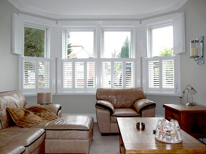 Bow Window Blinds