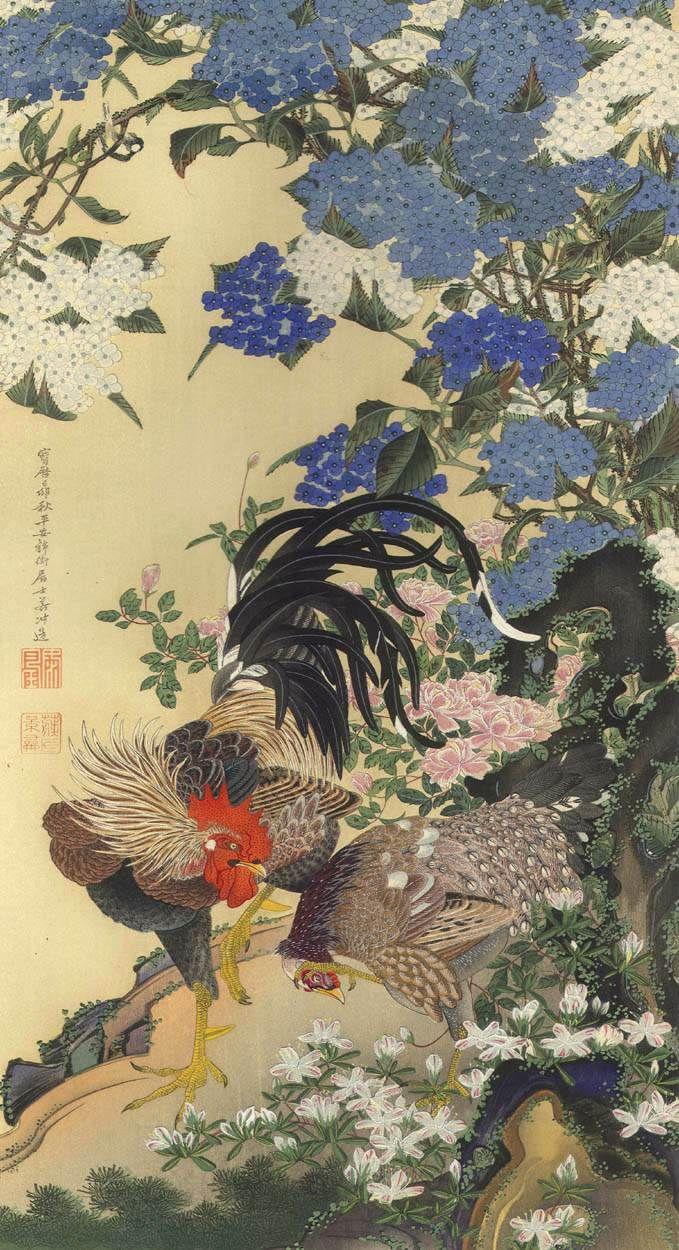 ITO Jakuchu (1716-1800), Japan