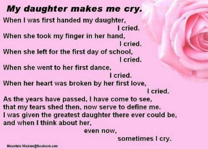 Love You Mom Quotes From Daughter Daughters Pinterest