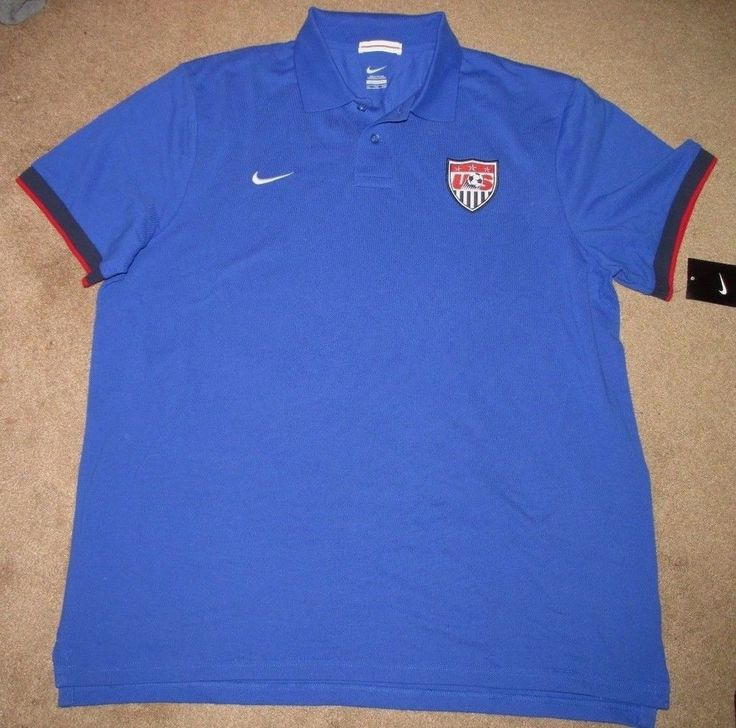 Nike USA Soccer Polo Bleu marine Taille S SDrAibW