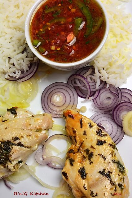 R'n'G Kitchen: Kurczak z sosem meksykańskim