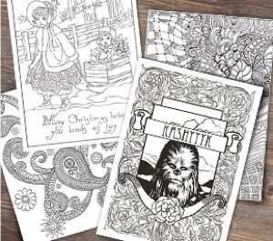 free coloring pages at michaelscom - Michaels Coloring Books
