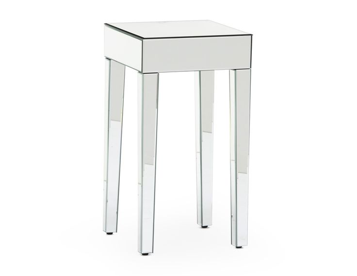 MIRAGE - Mirrored accent table.  Structube $119