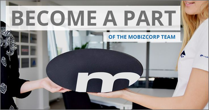 Apply now to become a part of our team! Mobizcorp is looking for Solution Engineers with a technical mindset and a way of thinking aimed at achieving the best problem resolution. Find more information about career opportunities and apply now: http://www.mobizcorp.de/en/career/ We are looking forward to receiving your application! #mobizcorp_career #solutionengineer #career #engineer