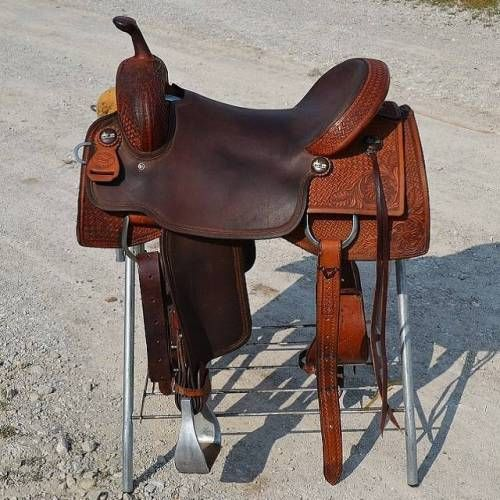 16.5 inch Paul Custom Cutting Saddle for Sale - For more ...