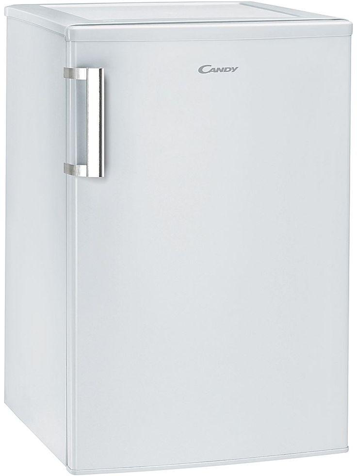 Candy CCTLS542WH är ett litet smidigt kylskåp utan frysfack. 1st grönsakslåda, 3 glashyllor i kylen, 3 hyllor i dörren, omhängbar dörr med rostfritt handtag, LED ljus. Högerhängt, omhängningsbart.