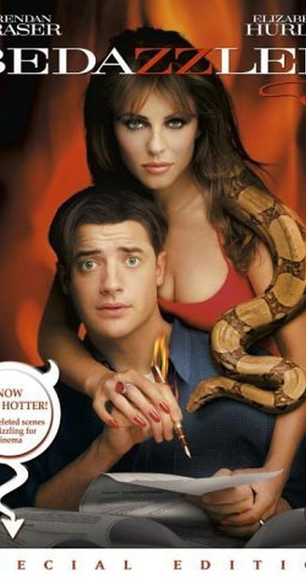 Directed by Harold Ramis.  With Brendan Fraser, Elizabeth Hurley, Frances O'Connor, Miriam Shor. Hopeless dweeb Elliot Richards is granted 7 wishes by the devil to snare Allison, the girl of his dreams, in exchange for his soul.
