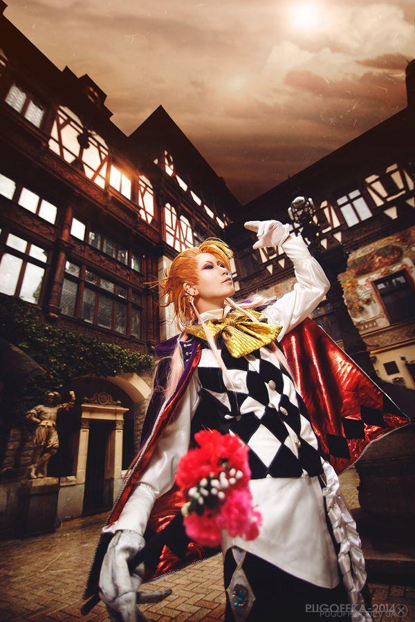 Joker(Black Butler) | REIKA - WorldCosplay this is amazing!