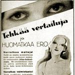 The ad from Kotiliesi 1934